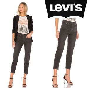 Levi's Wedgie Icon Fit High Rise Jeans in Deedee